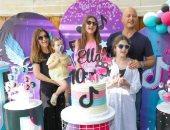 """نانسى عجرم تحتفل بعيد ميلاد ابنتها """"إيلا"""" في أجواء مبهجة"""