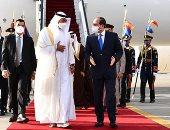 الرئيس السيسى يؤكد تقدير ومودة مصر قيادةً وشعباً لدولة الإمارات العربية