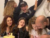 شريف منير يحتفل بعيد ميلاد ابنته وحفيدته فى يوم واحد.. صور
