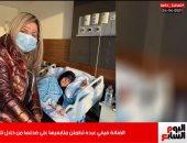 أول تصريحات من فيفي عبده لجمهورها عبر تليفزيون اليوم السابع (فيديو)