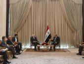 الرئيس العراقى : نتبنى علاقات متوازنة وسياسة منفتحة مع كافة دول المنطقة