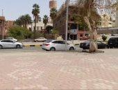 شبورة ترابية خفيفة وطقس حار يسود محافظة أسوان.. فيديو