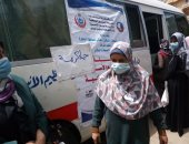 """تنفيذ قافلة سكانية شاملة بقرية جواد حسنى بأبو حمص ضمن مبادرة """"حياة كريمة"""""""