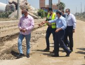 رصف شوارع مدينة طنطا فى الغربية والمحافظ يوجه برفع كل الإشغالات