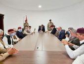 رئيس المجلس الرئاسى الليبى يبحث مع أعيان وحكماء طبرق المصالحة الوطنية
