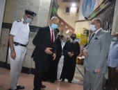 محافظ القليوبية ومدير الأمن يهنئان الأنبا مكسيموس بعيد القيامة المجيد
