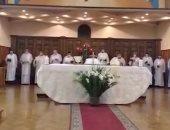 شاهد الاحتفالات بعيد القيامة من كنيسة كل القديسين بالزمالك