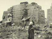 """100 صورة عالمية.. """"الكرنك"""" الطريق إلى قدس أقداس الحضارة المصرية القديمة"""