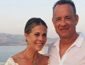 زوجة توم هانكس تحتفل بعيد ميلاده الـ65.. اعرف ماذا فعلت