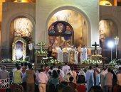شاهد كاتدرائية السمائين بشرم الشيخ تحتفل بعيد القيامة المجيد