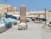 قلعة قايتباى بلا زوار لأول مرة فى شم النسيم.. وغلق 66 شاطئا بالإسكندرية