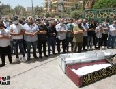 تشييع جثمان المطرب ماهر العطار من مسجد السيدة نفيسة