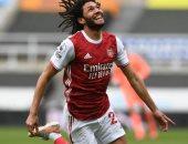 محمد الننى يطير إلى إنجلترا الجمعة المقبل بعد مواجهة ليبيا
