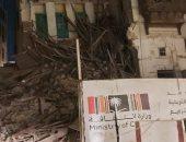 """انهيار جزئى فى منزل تاريخى وسط جدة..""""سبق"""" تكشف التفاصيل (فيديو)"""