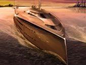 """يخت """"كوبرا"""".. تصميم مذهل للسفن الفاخرة يعتمد على المحركات النفاثة """"صور"""""""