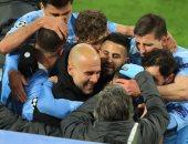 جوارديولا المدرب الأكثر فوزاً فى تاريخ مانشستر سيتي بـ221 مباراة