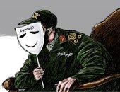 الحرس الثورى الإيرانى يرفع قناع الإصلاحيين فى كاريكاتير الشرق الأوسط