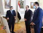 الرئيس السيسى يتابع التحقيقات والدروس المستفادة من حادثة جنوح سفينة الحاويات