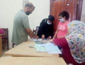 نقل وتسكين 19 أسرة من مسار محور شينزو آبى لمدينة المحروسة بالقاهرة