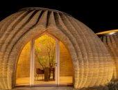 مستقبل السكن.. تصميم أول منزل من الطين بتقنية الطباعة 3D فى إيطاليا.. صور