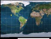 حطام الصاروخ الصينى يمر 4 مرات فوق الشرق الأوسط.. اعرف التفاصيل