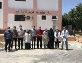إقبال أهالى شمال سيناء على التطعيم ضد فيروس كورونا.. فيديو