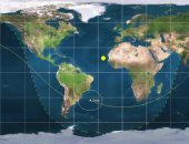 مركز الفلك الدولى يطلق بثا مباشرا لمتابعة الصاروخ الصينى