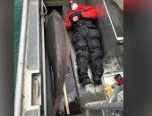 """""""وحش النهر"""".. سمكة ضخمة عمرها 100 عام عثر عليها فى نهر أمريكى"""