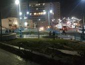 فيديو وصور.. تحسن الأجواء ليلا فى مطروح بعد عاصفة ترابية جنوب المحافظة