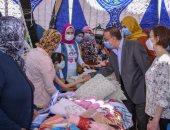 محافظ الإسكندرية يطلق مبادرة لتجميع 15 ألف قطعة ملابس جديدة للأطفال بمناسبة عيد الفطر