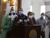 وزيرة الصحة: فرق بـ 27 محافظة لتطعيم أصحاب الأمراض المزمنة بالمستشفيات
