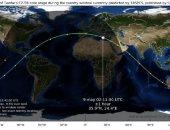 العربية: الصين تعلن تفكك الصاروخ في بحر العرب بعد دخول الغلاف الجوي