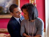 رسالة رومانسية من ميشيل أوباما لزوجها بمناسبة عيد ميلاده الـ 60