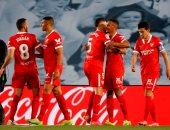 إشبيلية يتفوق على ريال مدريد 1-0 فى الشوط الأول بالدوري الإسباني.. فيديو