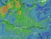 صور الأقمار الصناعية تشير لأجواء شديدة الحرارة والقاهرة تسجل 39 درجة الآن