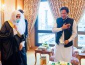 الأمين العام لرابطة العالم الإسلامي يلتقي رئيس الوزراء الباكستاني