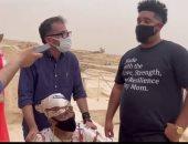 من بنسلفانيا لمصر.. التنسيقية تحقق حلم جلوريا محاربة السرطان بزيارة الأهرامات
