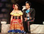 """سامح حسين وسهر الصايغ يعرضان """"المتفائل"""" على المسرح القومي"""