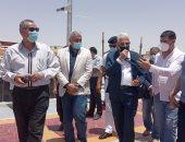 محافظ جنوب سيناء يوجه بإقامة منطقة ملاعب بمقصد العائلة وتطوير منطقة حمام موسى