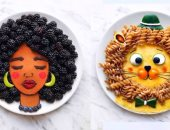الإبداع فى ابتكار أطباقا لشخصيات كرتونية بالبطاطا والأرز والموزاريلا.. البوم صور