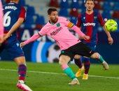 """برشلونة يستعرض اهداف الركلات الحرة لـ """"ميسي"""".. شاهد أفضل 10 تسديدات"""