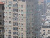 شهيدان و8 مصابين فى قصف للطيران الإسرائيلى لشقة سكنية وسط قطاع غزة