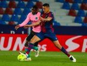 برشلونة يرفض الصدارة ويسقط فى تعادل مثير ضد ليفانتى بالدورى الإسبانى