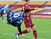 التشكيل الرسمي لمباراة الإنتر ضد روما فى الدوري الإيطالي