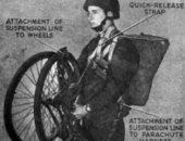دراجة قابلة للطي استخدمها البريطانيون في معركة نورماندى للبيع بـ8 آلاف إسترلينى.. صور