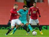 """مان يونايتد ضد ليفربول.. محمد صلاح يضيف الرابع للريدز 4-2 """"فيديو"""""""