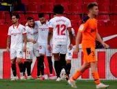 يوسف النصيري يقود إشبيلية للفوز على فالنسيا فى الدوري الإسباني.. فيديو