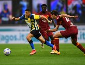 إنتر ميلان يتقدم على روما 2-1 بالشوط الأول فى الدوري الإيطالي.. فيديو