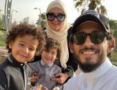 نجوم الكرة يستقبلون عيد الفطر بالجلابية فى حضور العائلة.. صور