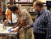 تحرير 55 محضر عدم ارتداء كمامة وغلق 17 محلا مخالفا فى دمياط